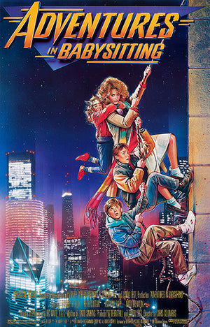 Adventures In Babysitting - 1987 - Movie Poster Magnet