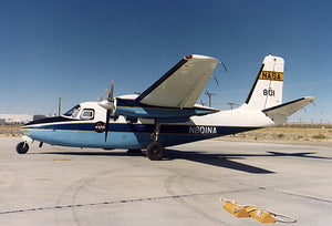 Aero Commander - NASA Flight Research Center - 1979 - Photo Magnet