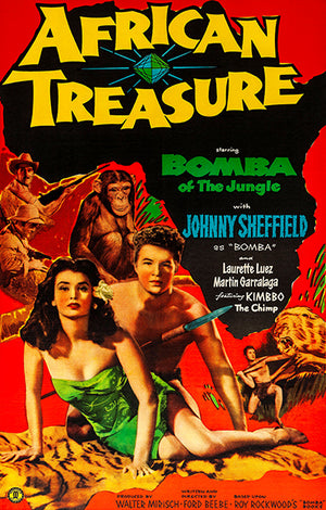 African Treasure - 1952 - Movie Poster Magnet