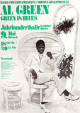 Al Green - Green Is Blues - 1973 - Germany - Concert Poster