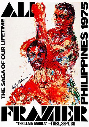 Ali - Frazier - Thrilla In Manila - Philippines - 1975 - Fight Promotion Mug