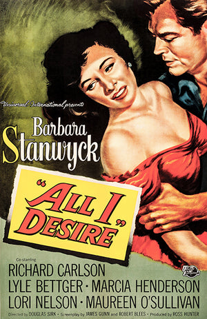 All I Desire - 1953 - Movie Poster