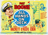 All Hands On Deck - 1961 - Movie Poster