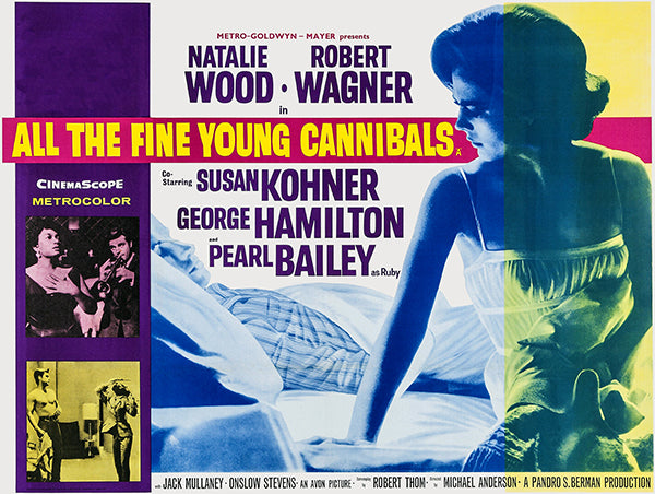 All The Fine Young Cannibals - 1960 - Movie Poster