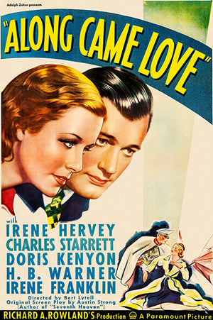 Along Came Love - 1936 - Movie Poster