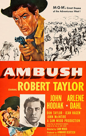Ambush - 1950 - Movie Poster