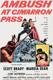 Ambush At Cimarron Pass - 1958 - Movie Poster