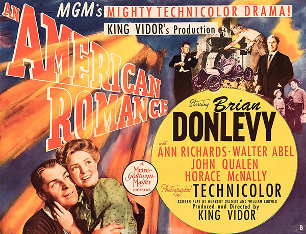 An American Romance - 1944 - Movie Poster