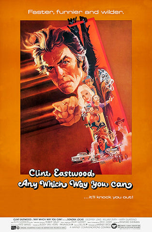 Any Which Way You Can - 1980 - Movie Poster