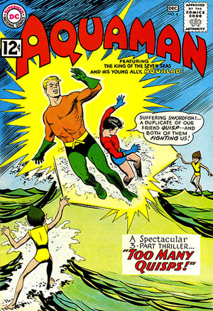 Aquaman #6 - December 1962 - Comic Book Cover Poster