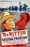 Arizona Frontier - 1940 - Movie Poster
