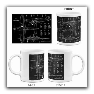 Arsenal VG-33 - Blueprint Mug