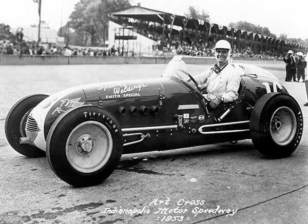 Art Cross - Indy 500 - Smith Special - 1953 - Photo Poster