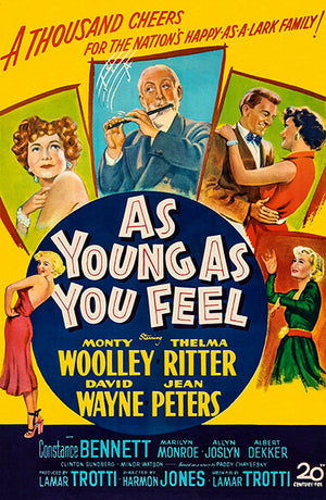 As Young As You Feel - 1951 - Movie Poster Magnet