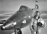 Astronaut Joe Engle & The North American X-15A-2 - Photo Poster