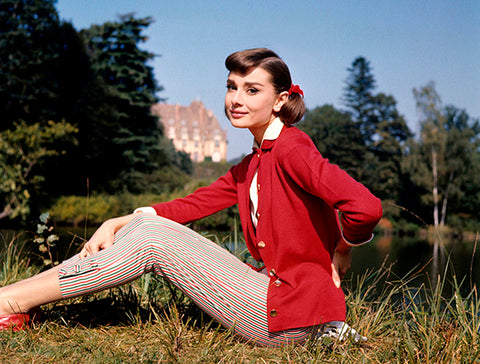 Audrey Hepburn - Love In The Afternoon - Movie Still Poster