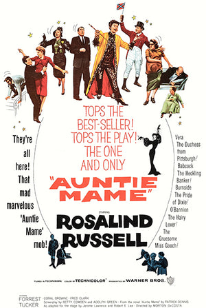 Auntie Mame - 1958 - Movie Poster