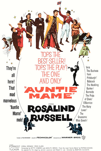 Auntie Mame - 1958 - Movie Poster Mug