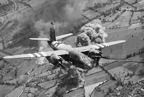 B-26 Marauder - D-Day - World War II - 1944 - Photo Poster
