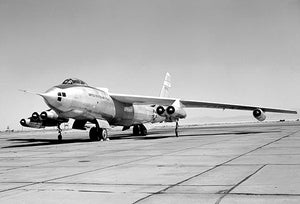 B-47A Stratojet - NACA High-Speed Flight Research Station - 1953 - Photo Magnet