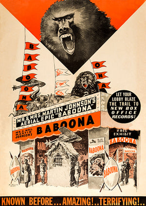 Baboona - 1935 - Movie Poster
