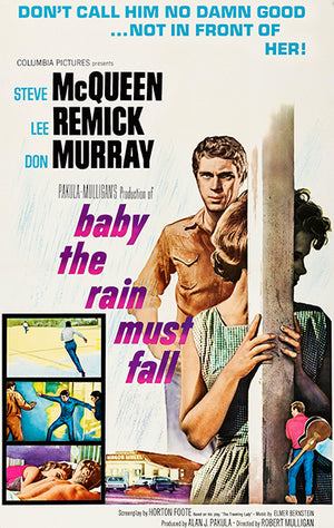 Baby The Rain Must Fall - 1965 - Movie Poster