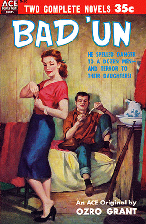 Bad 'Un - 1954 - Pulp Novel Cover Poster