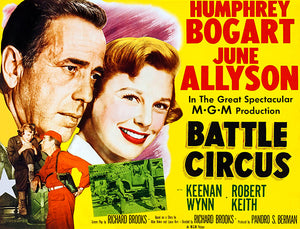 Battle Circus - 1953 - Movie Poster