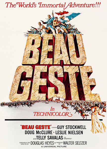 Beau Geste - 1966 - Movie Poster