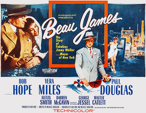 Beau James - 1957 - Movie Poster