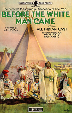 Before The White Man Came - 1920 - Movie Poster Magnet