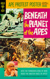 Beneath The Planet Of The Apes - 1970 - Comic Book Cover Poster