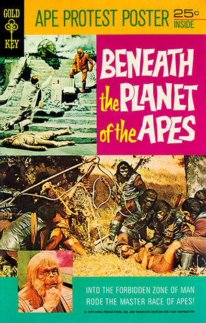 Beneath The Planet Of The Apes - 1970 - Comic Book Cover Mug