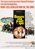 Beneath The Planet Of The Apes - 1970 - Movie Poster