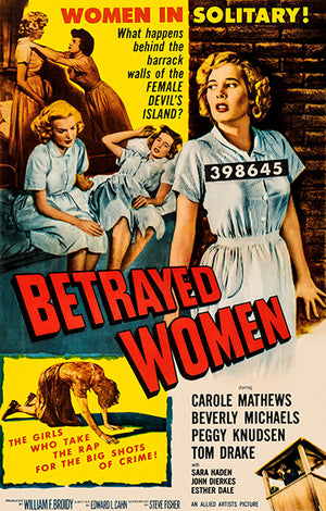 Betrayed Women - 1955 - Movie Poster Magnet