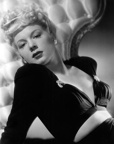 Betty Hutton - Movie Star Portrait Poster