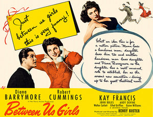 Between Us Girls - 1942 - Movie Poster Magnet