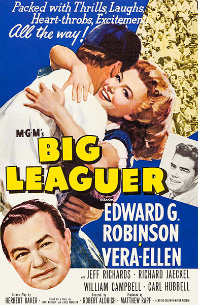 Big Leaguer - 1953 - Movie Poster