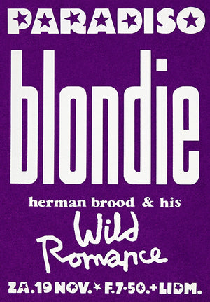 Blondie - 1977 - Paradiso - Amsterdam - Concert Magnet