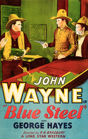 Blue Steel - 1934 - Movie Poster Magnet