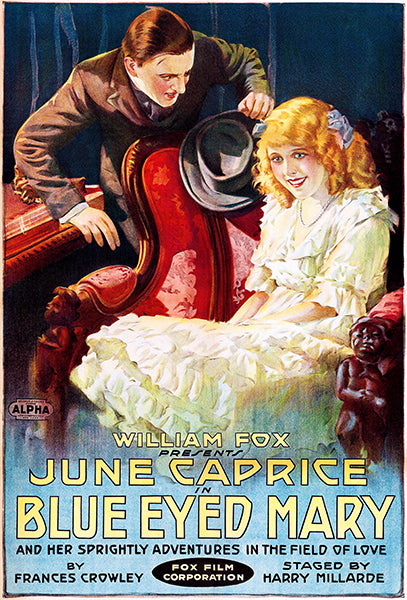Blue Eyed Mary - 1918 - Movie Poster