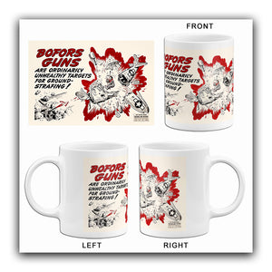 Bofors Guns - 1944 - Training Aids Aviation Mug