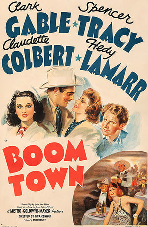 Boom Town - 1940 - Movie Poster