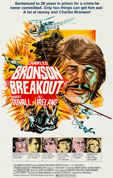 Breakout - 1975 - Movie Poster