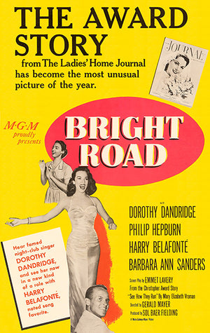Bright Road - 1953 - Movie Poster