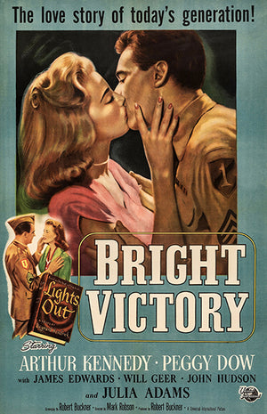 Bright Victory - 1951 - Movie Poster Magnet