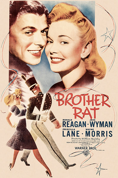 Brother Rat - 1944 - Movie Poster