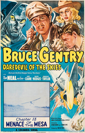 Bruce Gentry Daredevil Of The Skies - 1949 - Movie Poster