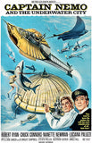 Captain Nemo And The Underwater City - 1970 - Movie Poster