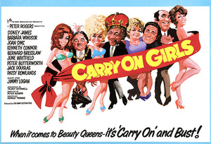 Carry On Girls - 1973 - Movie Poster